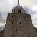 Порховская крепость. Никольская башня.