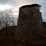 Порховская крепость. Средняя башня.