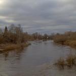Порхов. Река Шелонь.