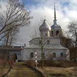Порховская крепость. Никольская церковь.