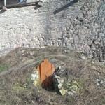 Порховская крепость. Погребок.