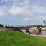 Новгород. Горбатый мост.