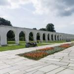 Новгород. У аркады Гостиного двора.
