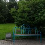 Новгород. Скамейка на Торгу.