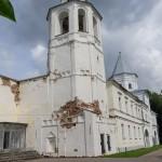 Новгород. Колокольня Никольского собора.