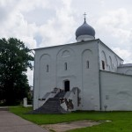 Новгород. Церковь Успения на Торгу.