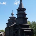 Витославлицы. Никольская церковь из деревни Высокий Остров Окуловского района
