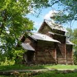 Витославлицы. Никольская церковь из деревни Тухоли.