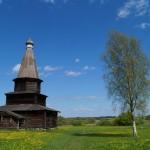 Витославлицы. Церковь Успения из села Курицко. 1595 год.