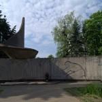 Полоцк. На проспекте Франциска Скорины. Памятник воинам Великой Отечественной.