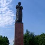 Полоцк. Памятник Франциску Скорине.