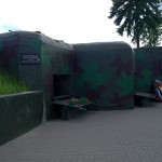 Линия Сталина под Минском. Артиллерийский полукапонир.
