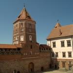 В Мирском замке.