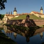 У  Несвижского замка.