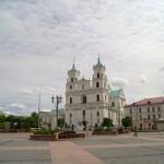 Гродно. Костел Святого Франциска Ксаверия на Советской площади.