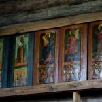Витославлицы. Церковь Рождества Богородицы (XVI век). Изображения святых.
