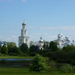 Витославлицы. Вид на Свято-Юрьев монастырь.
