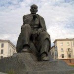 Минск. Памятник Якубу Коласу.