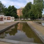 Минск. На площади Якуба Коласа.