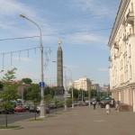 В Минске. К площади Победы.
