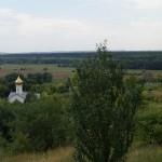 Холковский монастырь. Синие дали.