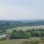 Холковский монастырь.  Вид с холма на белгородские просторы.