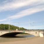 Минск. Захарьевский мост.