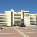 Дом правительства на площади Независимости.
