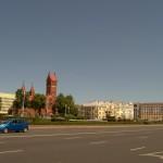 Площадь Независимости в Минске.