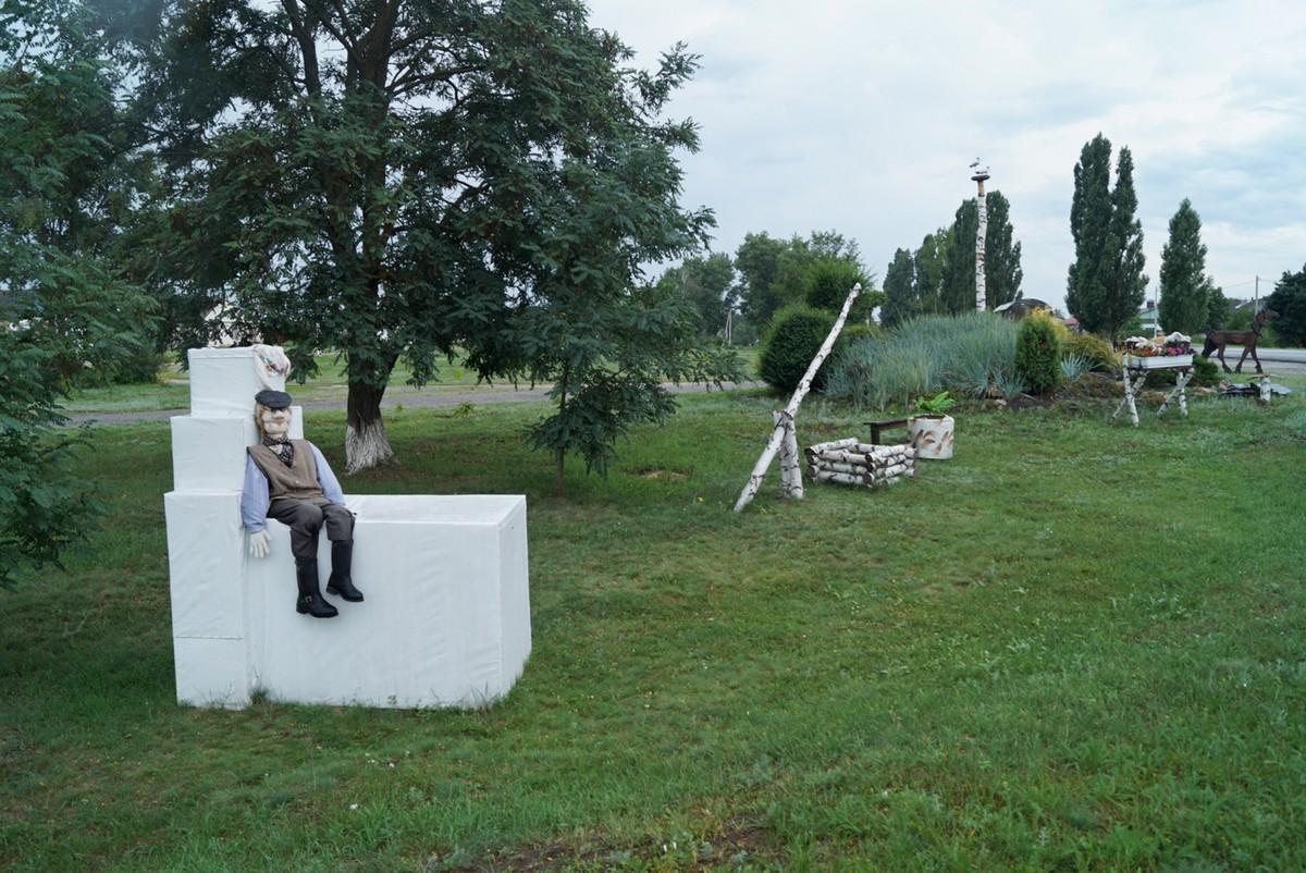 Все о деревенской жизни. Мини-выставка в селе Ездочное. Белгородская область.