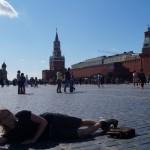 На Красной площади в Москве.