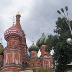 Москва. Купола Василия Блаженного.