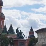 Москва. На Красной площади. Минин и Пожарский.