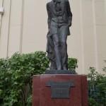 Москва. Камергерский переулок. Памятник Чехову.