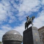 На Тверской площади. Памятник Юрию Долгорукому.