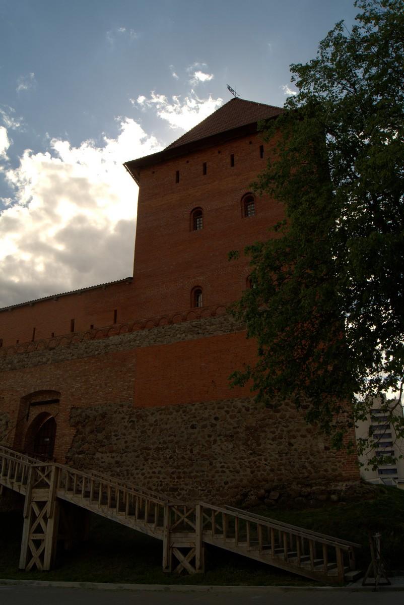 У Лидского замка.