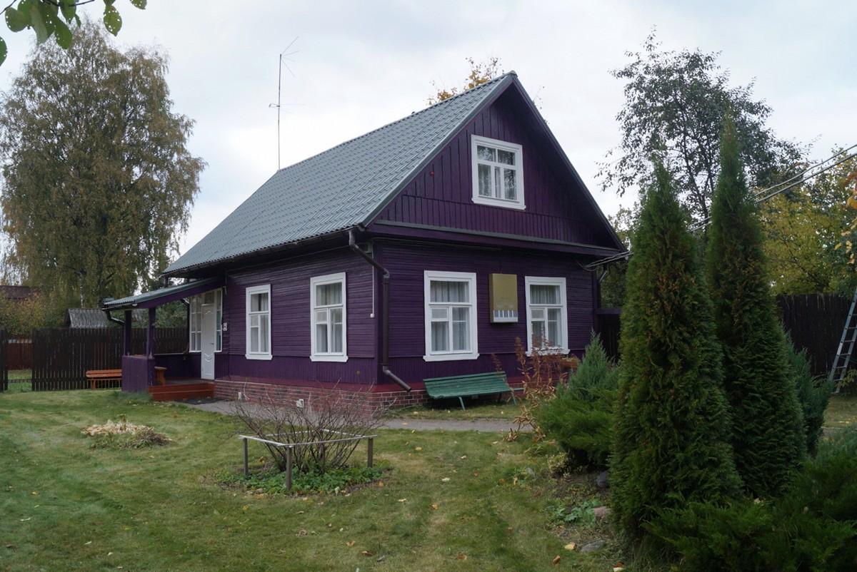 Сиверский. Дом-музей Исаака Шварца.