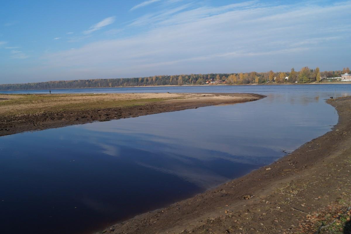 Устье реки Мойки. Недалеко от Павлово.