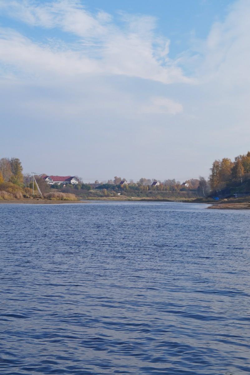 Река Мга. У впадения в Неву.