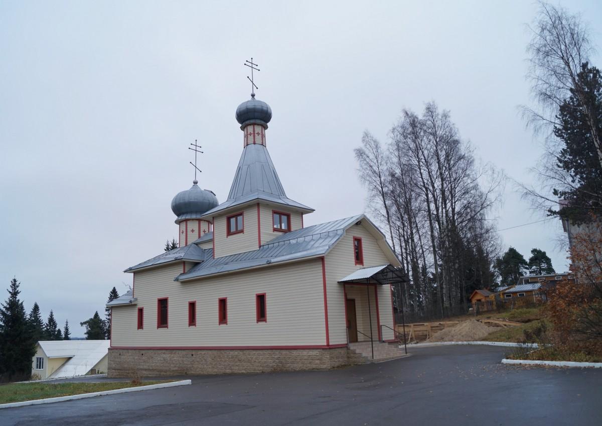 Лахденпохья. Церковь пророка Илии.