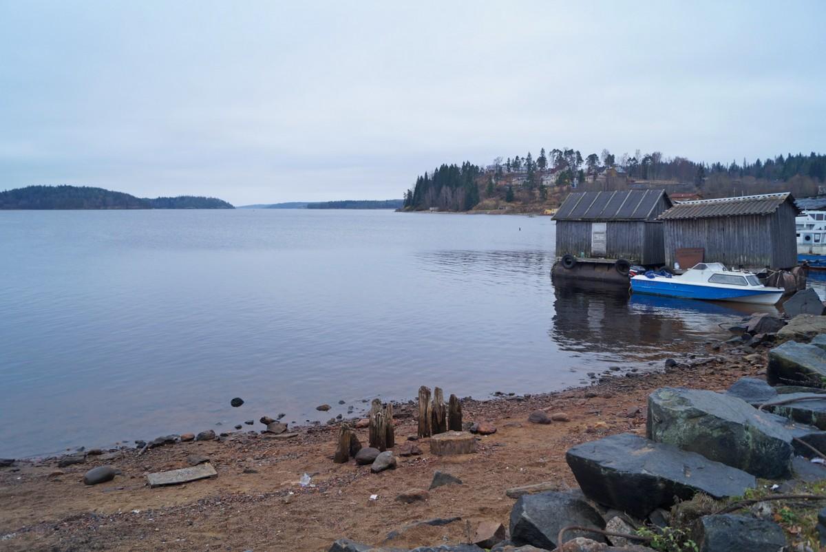 Лахденпохья. На Якимварском заливе Ладожского озера.
