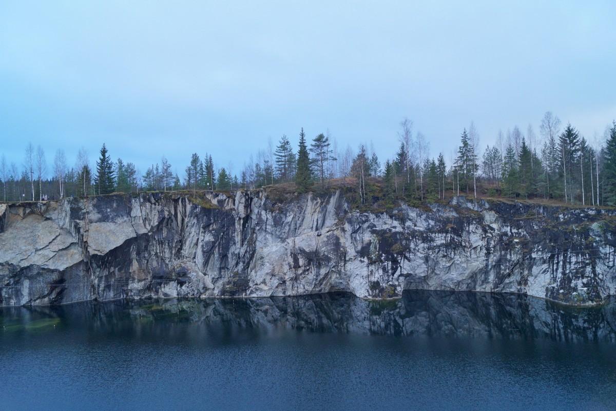 Рускеала. Мрамор и озеро.