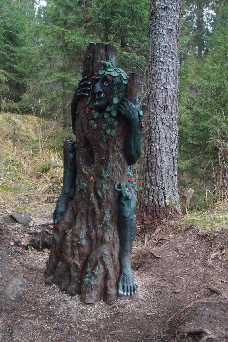 """Лесной парк """"Водопады Ахинкоски. Кикимора болотная."""