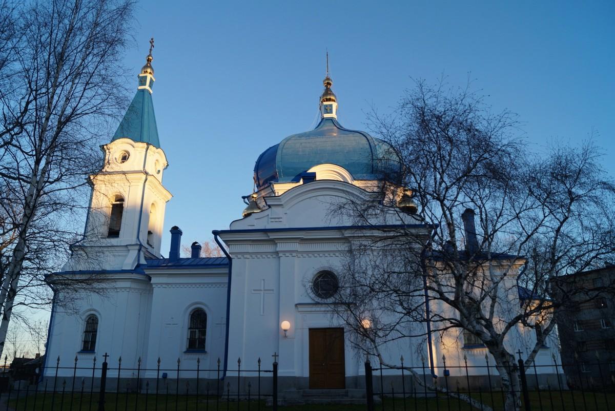 Сортавала. Церковь св. Николая.