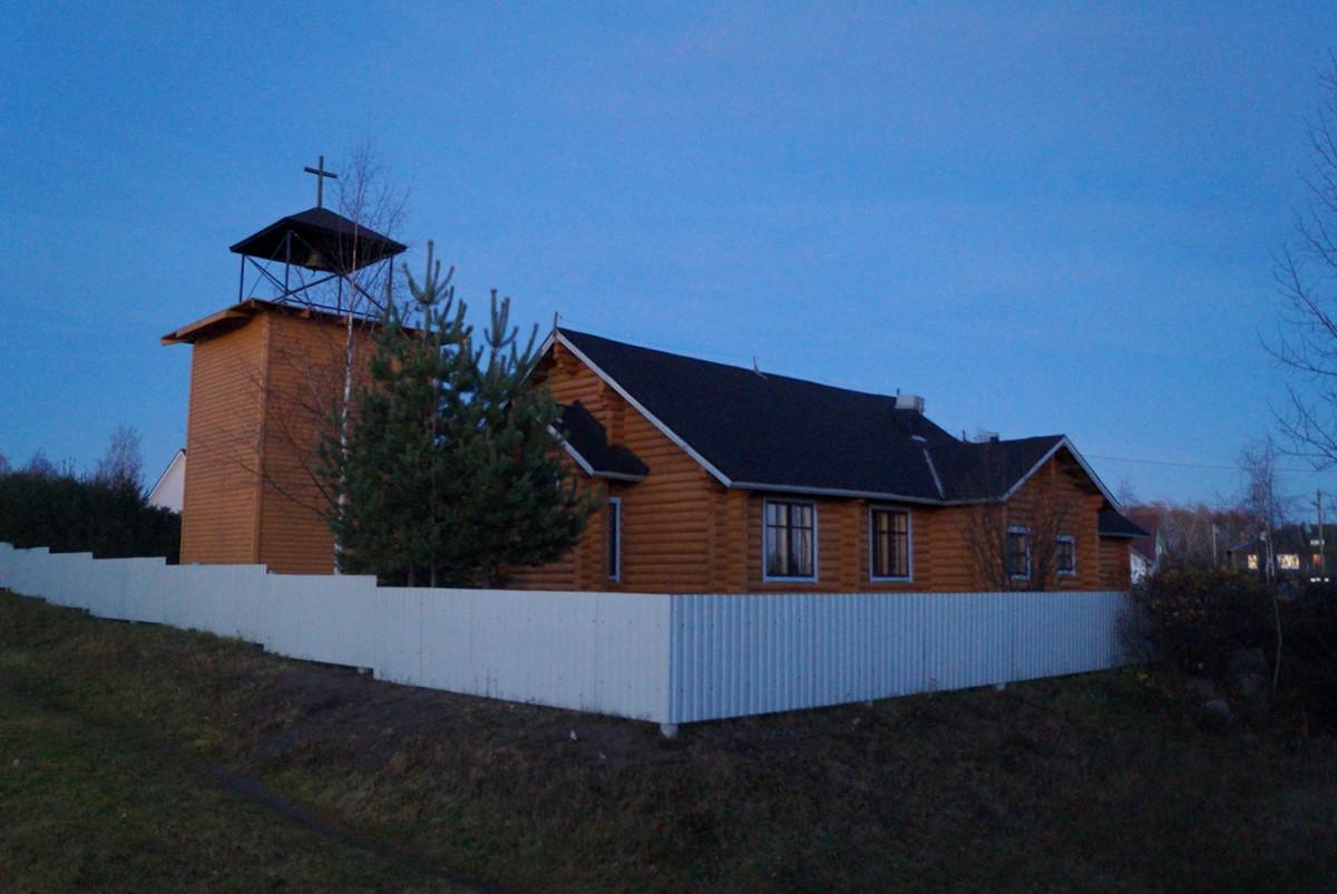 Питкяранта. Лютеранская церковь.