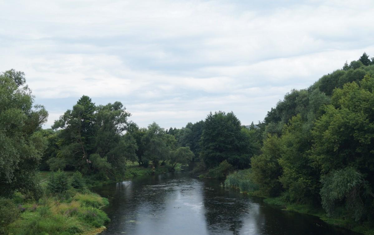Июнь. Река Оскол в Белгородской области.