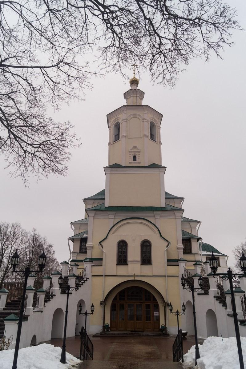 Спасо-Преображенский Авраамиев мужской монастырь. Преображенский собор.