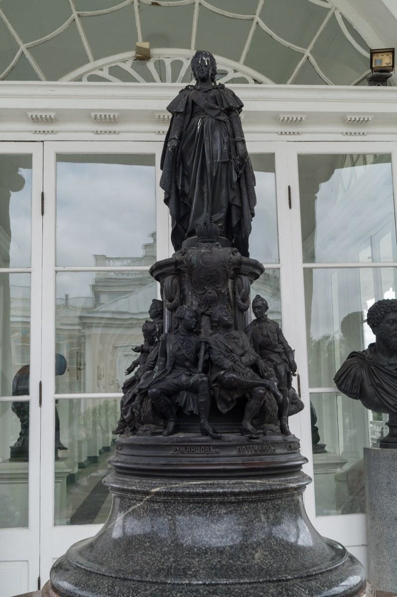 Памятники город пушкин екатерининский какие памятники есть в краснодаре есть