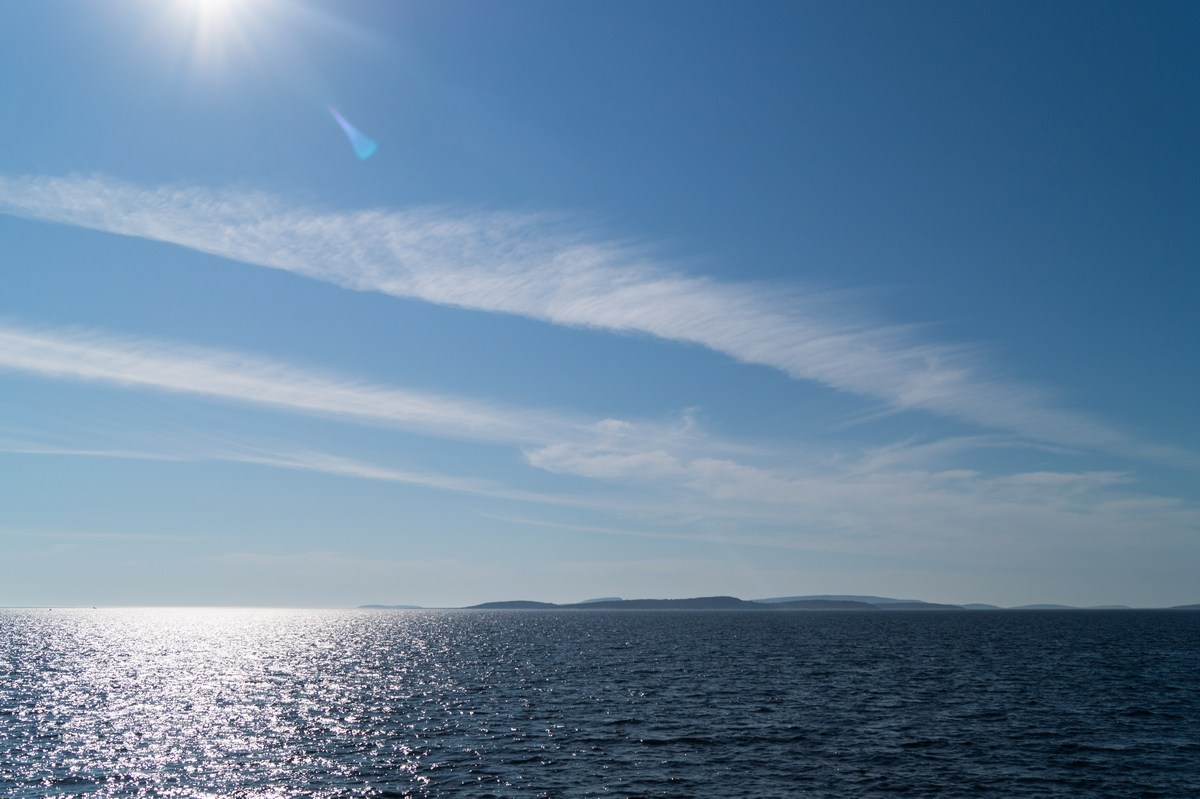 Белое море. По дороге к Большому Соловецкому острову.