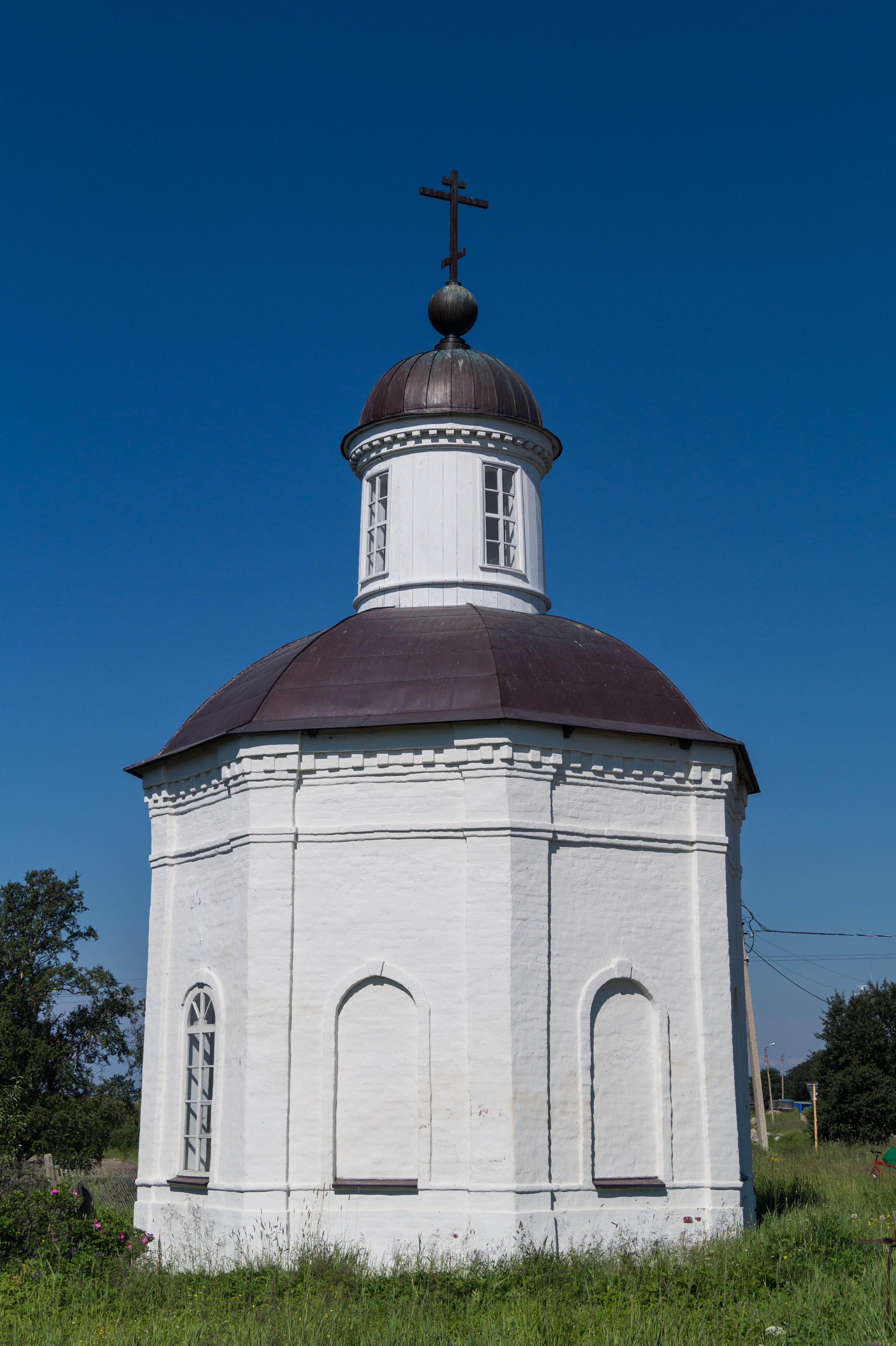 Соловецкий монастырь. Часовня, освященная в честь Филиппа, митрополита Московского.